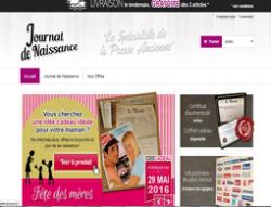 Codes promo et Offres Journal de naissance