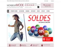 Codes promo et Offres MonsieurMode
