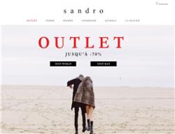 Code Gratuite 2019 Sandro Promo · Livraison Mars xqIUwFq0r