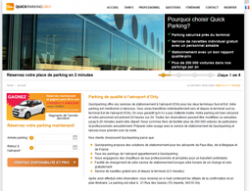 Codes promo et Offres Quick Parking Orly