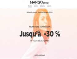Codes promo et Offres Mango Outlet