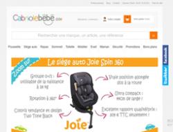 Codes promo et Offres Cabriole-bebe