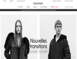 Codes promo et Offres Calvin Klein