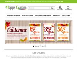 Codes promo et Offres Happy Garden
