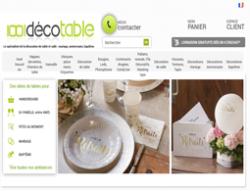 Codes promo et Offres 1001 deco table