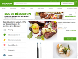 Codes promo et Offres Groupon BE