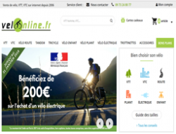 Codes promo et Offres Velo-on-line