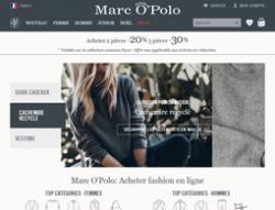 Codes promo et Offres MARC O'POLO