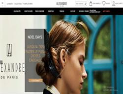 Codes promo et Offres Alexandre de Paris