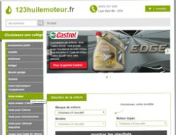 Codes promo et Offres 123huilemoteur.fr