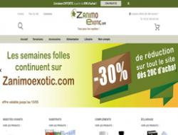 Codes promo et Offres Zanimoexotic.com