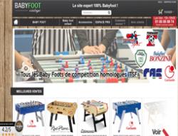 Codes promo et Offres Babyfoot Vintage