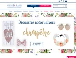Codes promo et Offres La Belle & Le Barbu