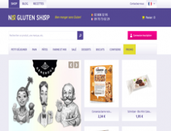 Codes promo et Offres No Gluten Shop