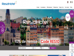 Codes promo et Offres Residhotel