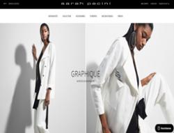 Codes promo et Offres Sarah Pacini