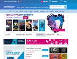 Codes promo et Offres Ticketmaster