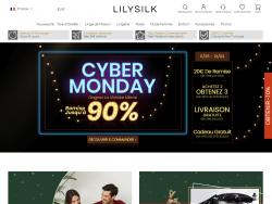 Codes promo et Offres Lily Silk