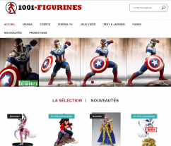 Codes promo et Offres 1001-figurines