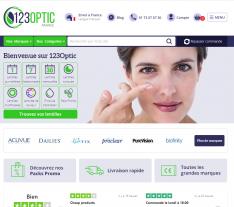 Codes promo et Offres 123Optic