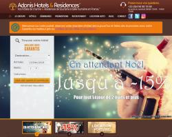 Codes promo et Offres Adonis-hotels-residences