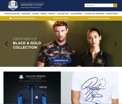 Codes promo et Offres Ryder Cup Shop
