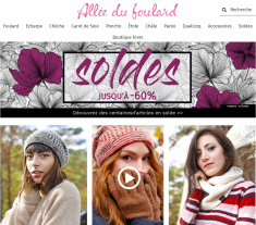 Codes promo et Offres Allée du foulard
