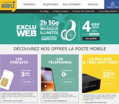 Codes promo et Offres La Poste Mobile