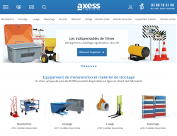 Codes promo et Offres Axess industries