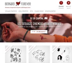 Codes promo et Offres Bernard Forever