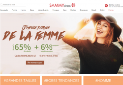 Codes promo et Offres Sammydress