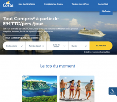 Codes promo et Offres Costa Costa Croisières