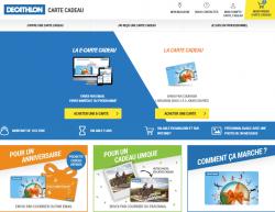 Codes promo et Offres Decathlon Carte Cadeau