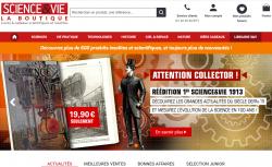 Codes promo et Offres Boutique Science et vie