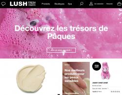 Codes promo et Offres Lush