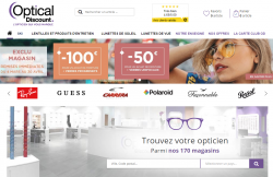 Codes promo et Offres Optical discount