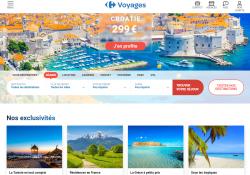 Codes promo et Offres Carrefour Voyages