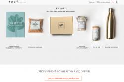 Codes promo et Offres Box Healthy