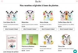 Codes promo et Offres Panda Tea