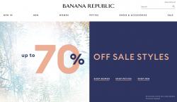 Codes promo et Offres Banana Republic