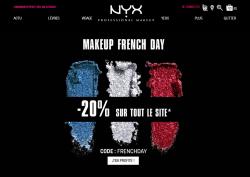 Codes promo et Offres NYX
