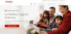 Codes promo et Offres McAfee France