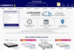 Codes promo et Offres La Compagnie du lit