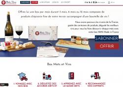 Codes promo et Offres Mets Vins