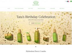 Codes promo et Offres Tata Harper