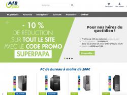 Codes promo et Offres AFB shop