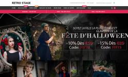 Codes promo et Offres RETRO STAGE