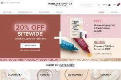 Codes promo et Offres Paula's Choice