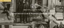 Codes promo et Offres Melvin & Hamilton