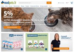 Codes promo et Offres Medpets.fr